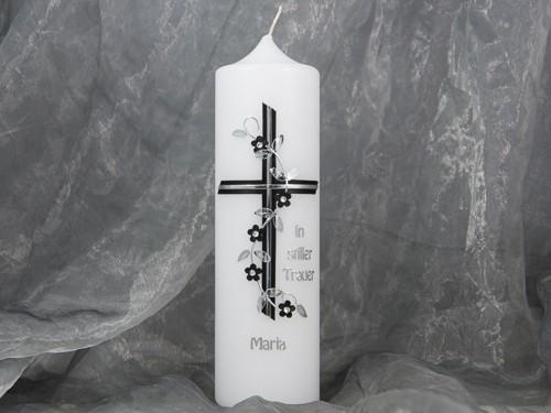 kerze trauerkerze gedenkkerze trauer gedenken 16758. Black Bedroom Furniture Sets. Home Design Ideas