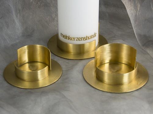 kerzenteller kerzenst nder kerzenhalter f r hochzeitskerze taufkerze gold 16624 kerzenteller und. Black Bedroom Furniture Sets. Home Design Ideas