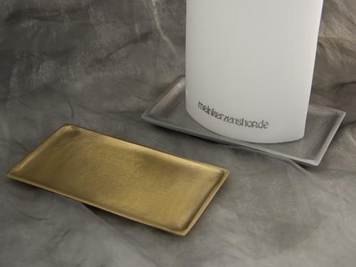 kerzenteller kerzenst nder kerzenhalter f r hochzeitskerze taufkerze silber gold 16641. Black Bedroom Furniture Sets. Home Design Ideas